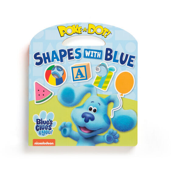 Shapes With Blue Poke A Dot Book