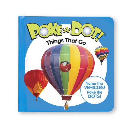 Things That Go Poke A Dot Book