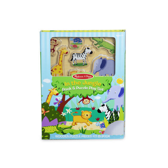 In The Jungle Book And Puzzle Play Set 7 Pc