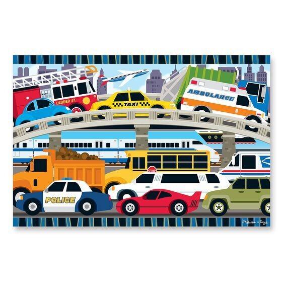 Traffic Jam 24 Pc Floor