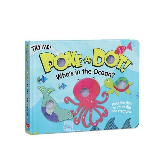 Who's In The Ocean Poke A Dot Book