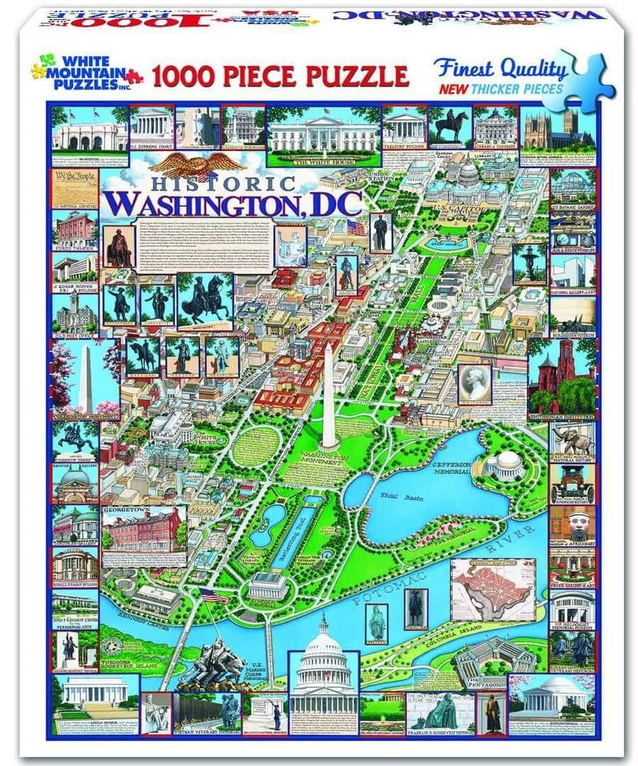 Historic Washington DC. 1000 Pc