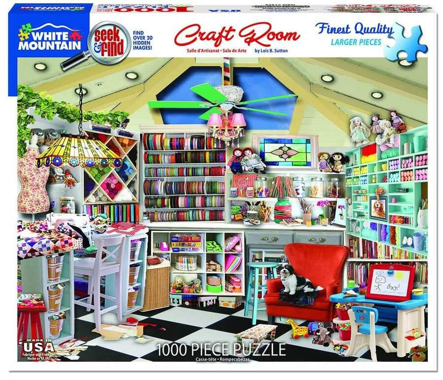 Craft Room 1000 Pc