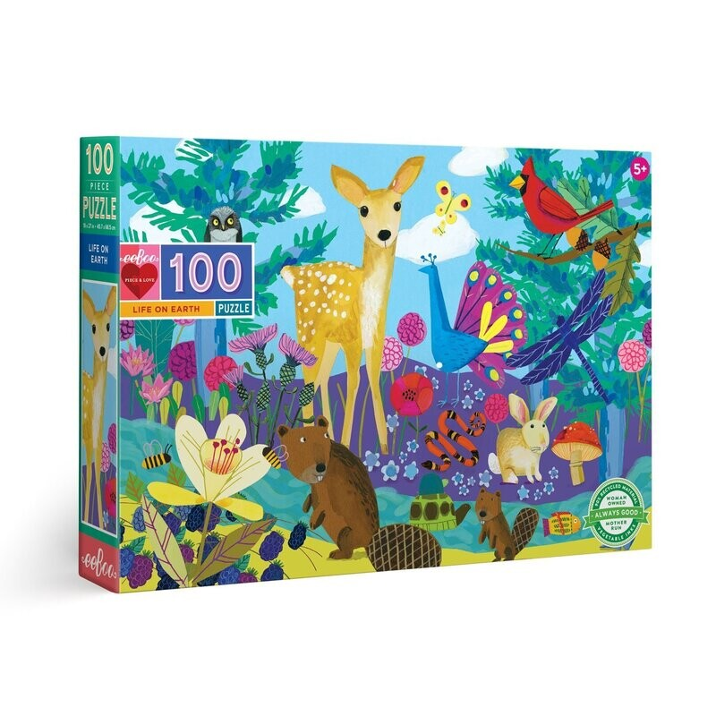 Life On Earth 100 Pc