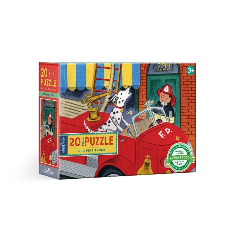 Red Fire Truck 20 Pc