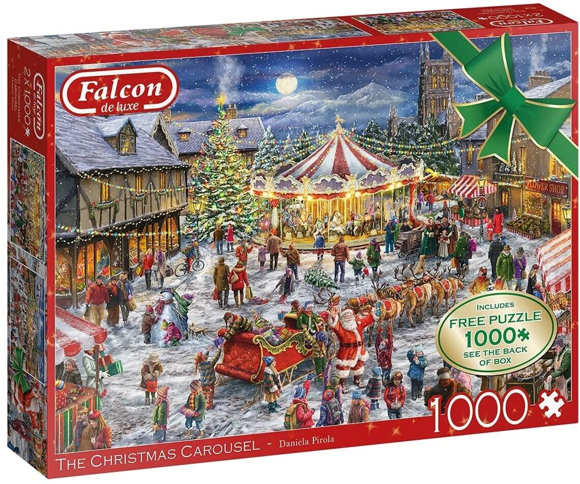 The Christmas Carousel 2 X 1000 Pc