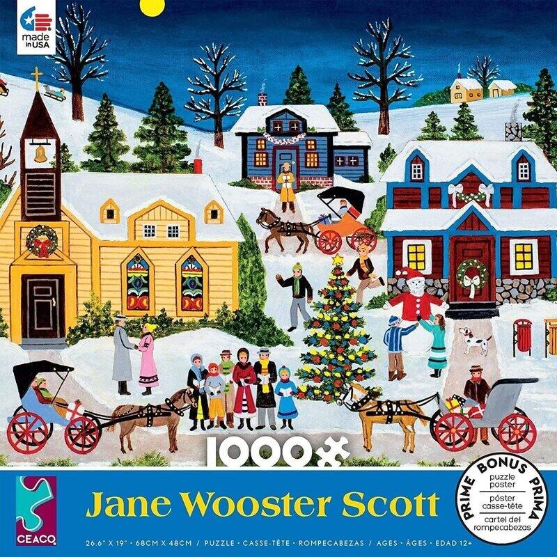 Jane Wooster Scott Festive Moments 1000 Pc