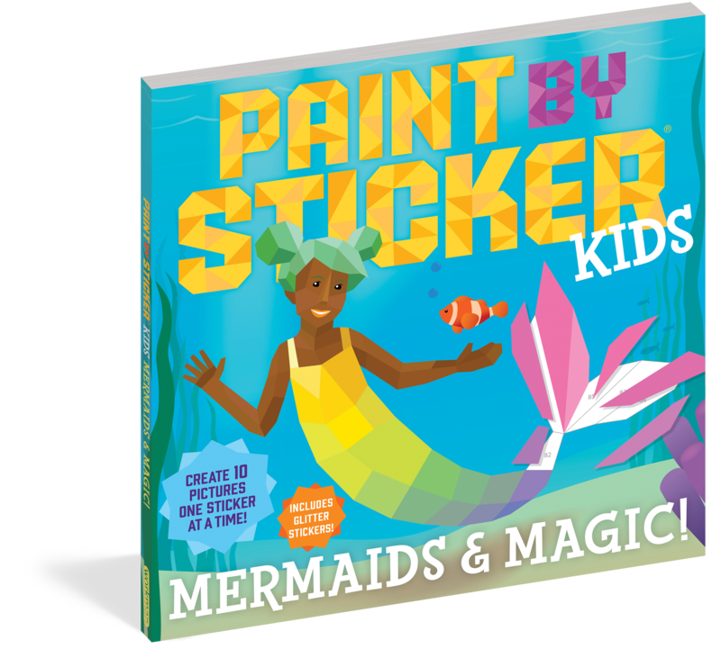 Paint By Sticker Kids Mermaids And Magic