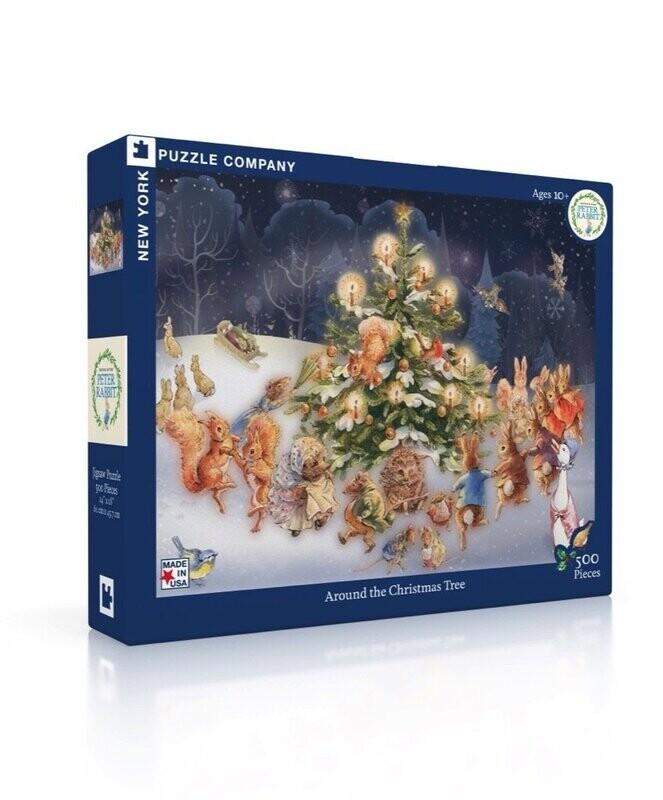 Around The Christmas Tree 500 Pc