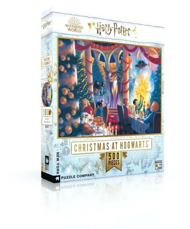 Christmas At Hogwarts 500 Pc