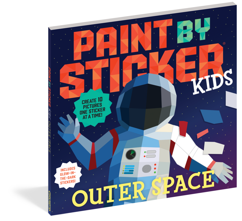 Paint By Stickers Outer Space