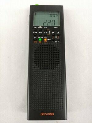 GP5-SSB LW/MW/SW/FM Wide Band Receiver