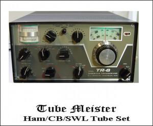 DRAKE TR-6 Six Meter Transceiver Complete Primo Tube Set - All RX, TX Tubes
