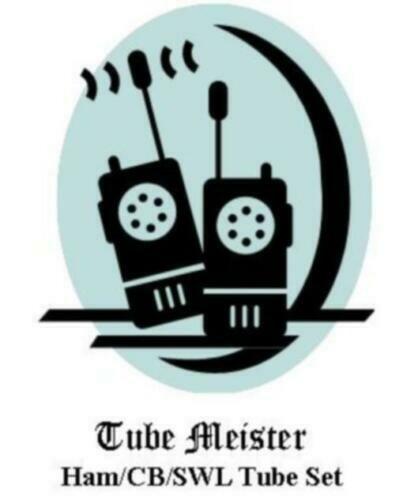 TRAM D201A Complete Primo Tube Set - All Receiver+Transmitter Tubes