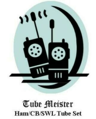 KNIGHT T50 Transmitter Complete Primo Tube Set 6AG7-807-5U4
