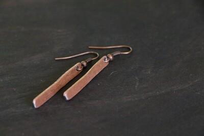 Copper Earing