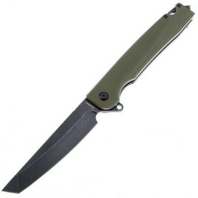 Daggerr Ronin knife Olive BW D2