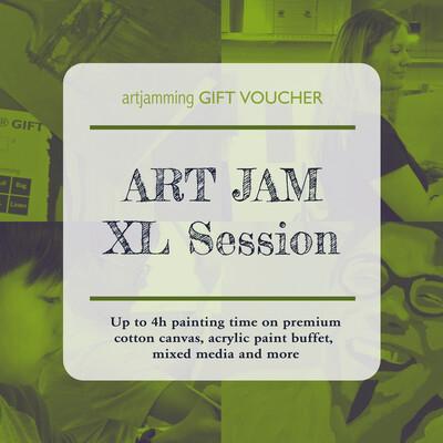 XL ART JAM 4h Session