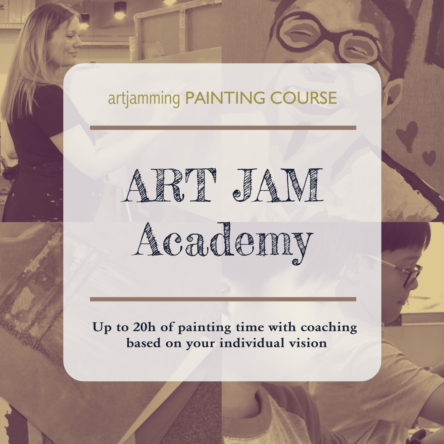 ART JAM Academy Course 10 X 2h Sessions