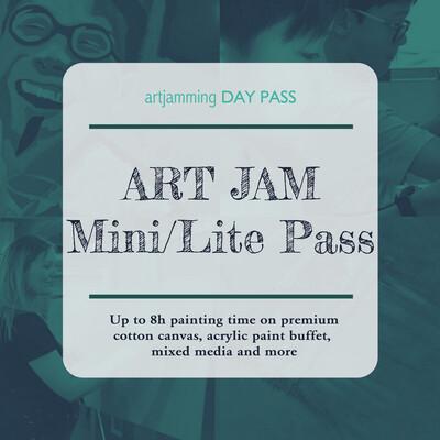 Mini/Lite Day Pass ART JAM 4 X 2h Sessions