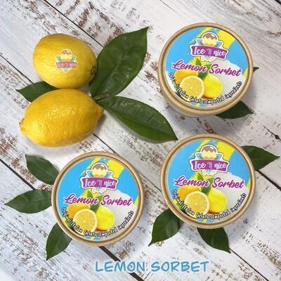 Lemon Sorbet - Italian Gelato