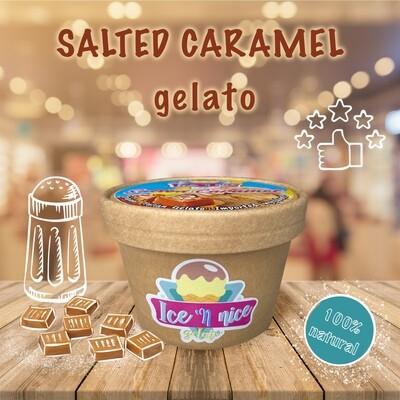 Salted Caramel - Italian Gelato