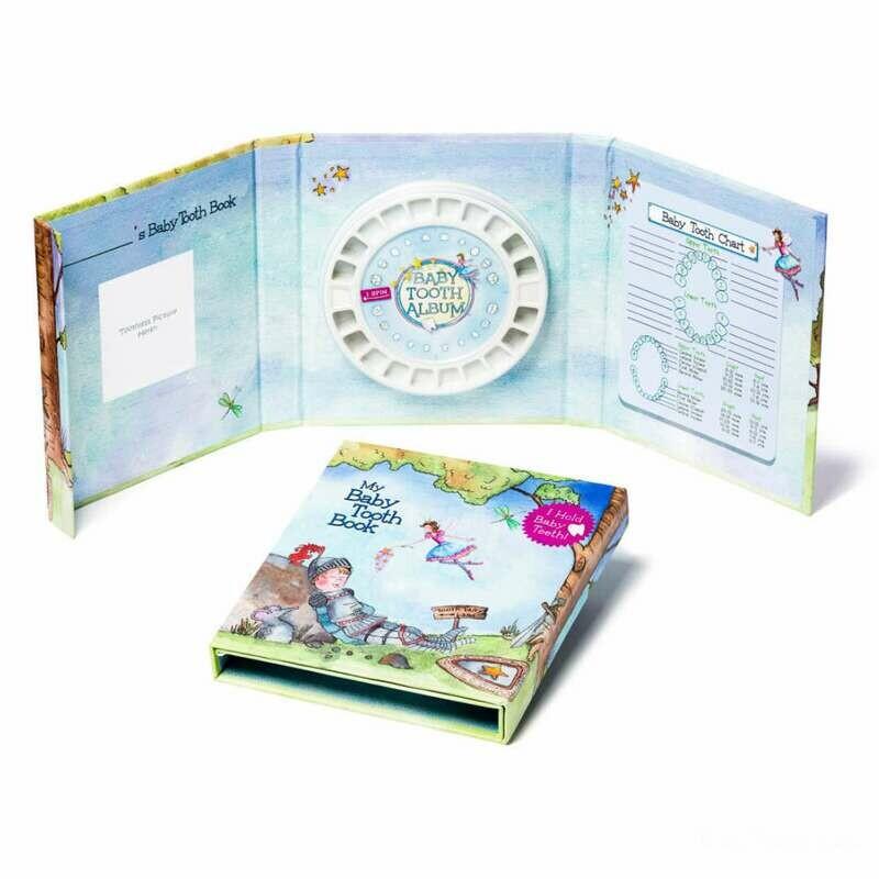 Baby Tooth Keepsake Book - Fairy Boy