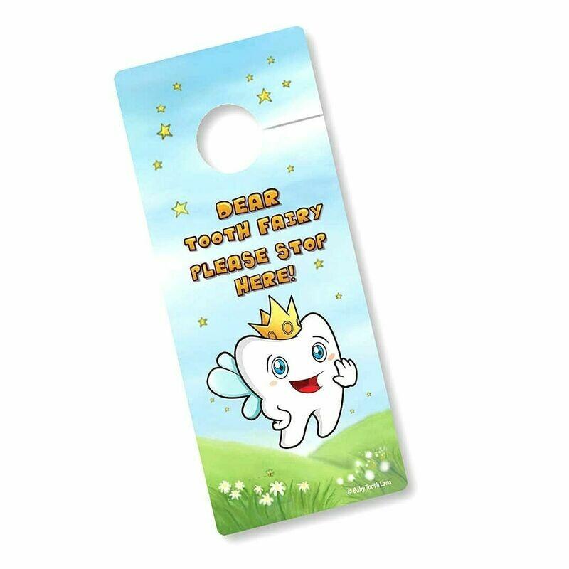 Tooth Fairy Door Hanger - Unisex