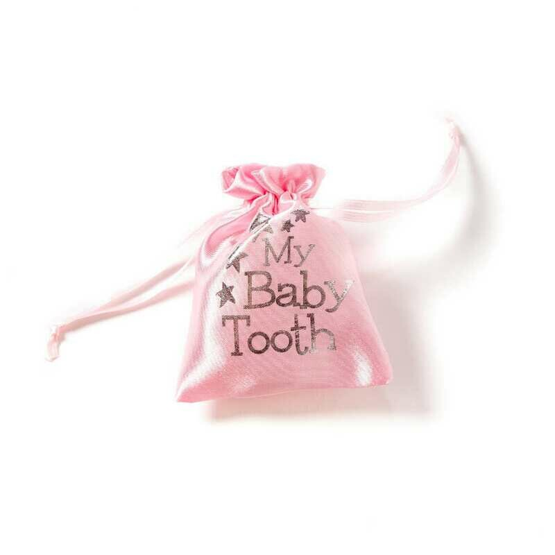 Baby Tooth Pouch - Pink