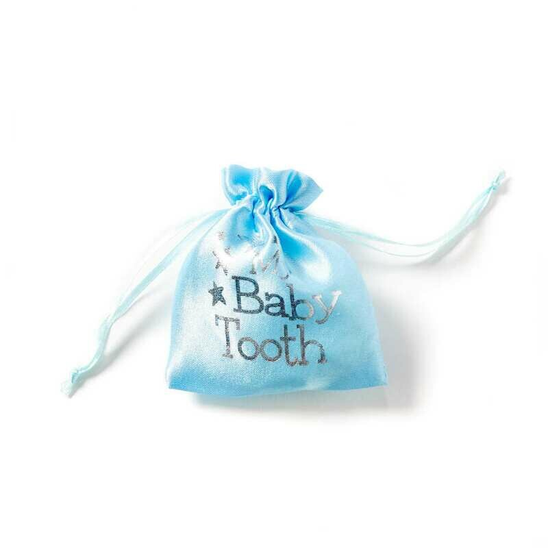 Baby Tooth Pouch - Blue