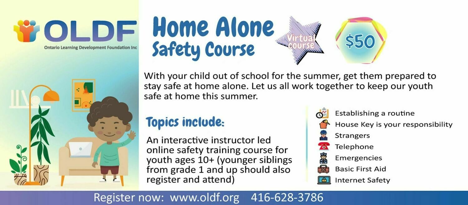 Home Alone Safety Course