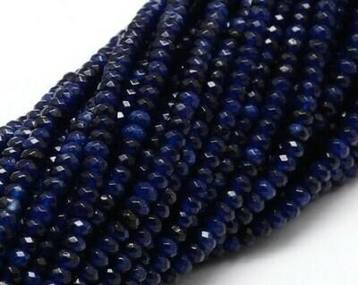 Giada abaco sfaccettata blu