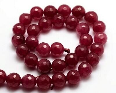 Giada rosso ciliegia 10mm