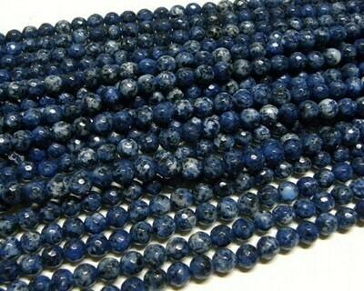 Pietre dure Agata 6 mm Blu Muschiata