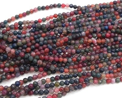 Pietre dure Agata 4 mm Mix Color