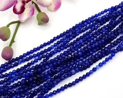 Pietre dure Agata Blu 4 mm