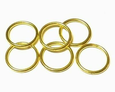 Anellini Chiusi Oro 10 mm
