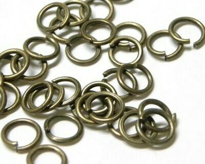Anello aperto Bronzo 5-8-10 mm