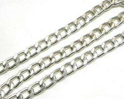 Catena Piatta 14x9,5 mm Silver