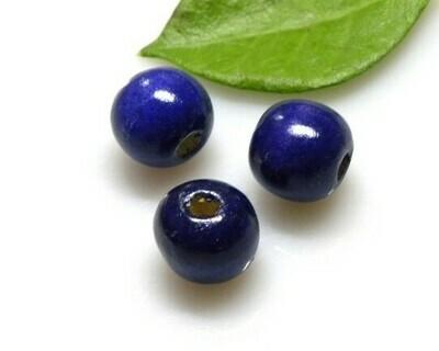 Perle di legno Viola 16x17 mm