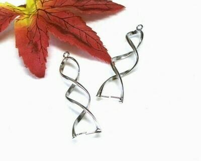 Base per orecchini Spirale
