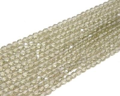 Cristalli ovali 4 mm Grigio