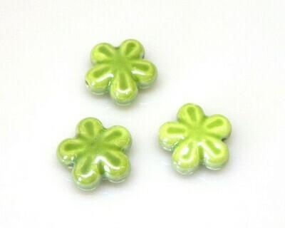 Fiore ceramica Verde 18 mm