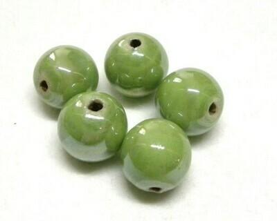 Sfere Ceramica Verde mela