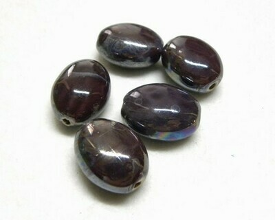 Perle Ceramica Confetto Melanzana
