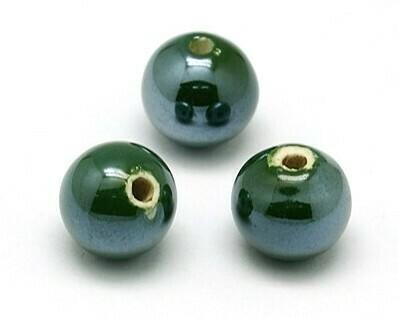 Sfere di ceramica Verde
