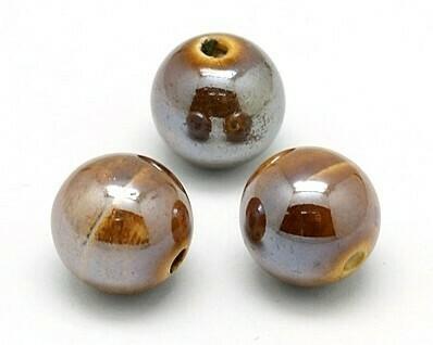 Sfere di ceramica Marrone12 mm