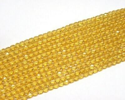 Cristalli ovali 6 mm Ambra