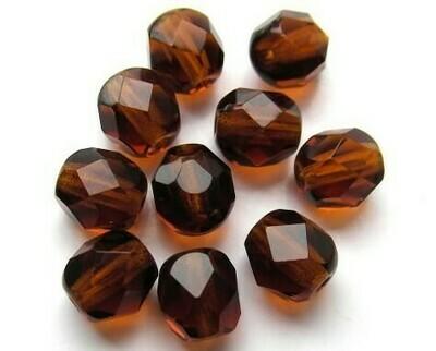 Cristalli ovali 6 mm Topazio