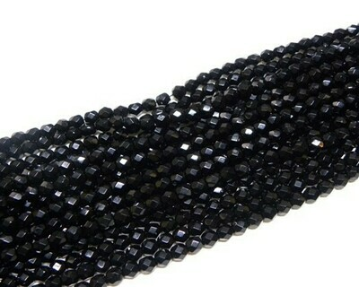 Cristalli ovali 6 mm Nero
